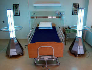 Did you know UV lamps can be used in the hospital sanitation process?