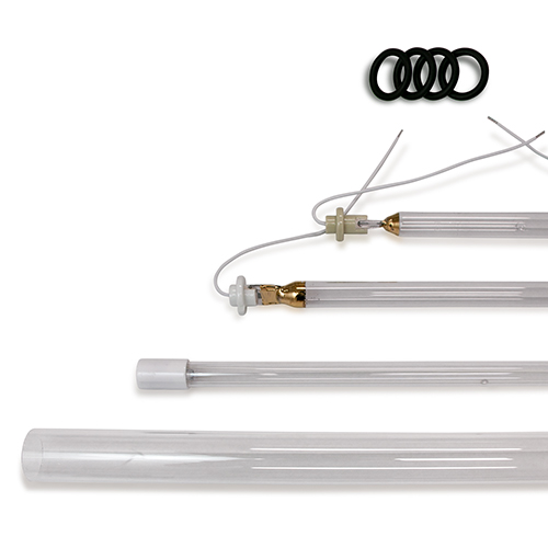 UV Germicidal/ Disinfection Lamps, Quartz Sleeves, and O-rings